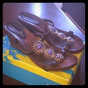 Montego Bay Club Wedge Sandals